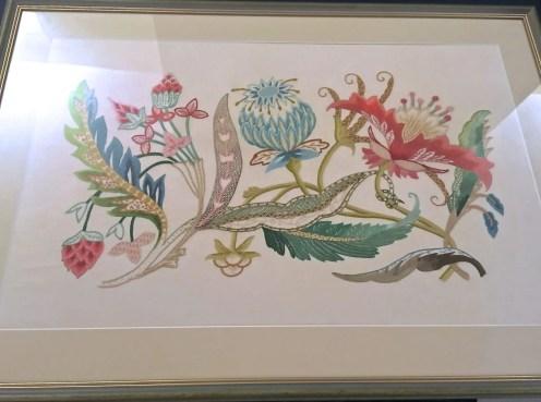 Embroidery restoration 2018