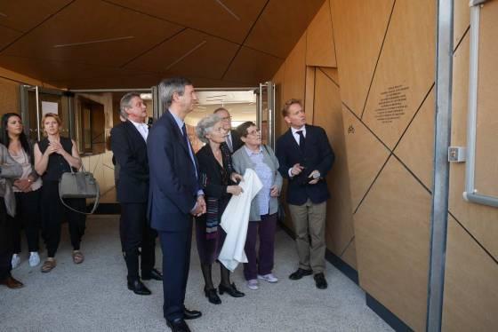 Inauguration de l'espace éductaif maternel Jean Zay