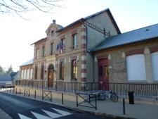 La mairie de La Boissère-École