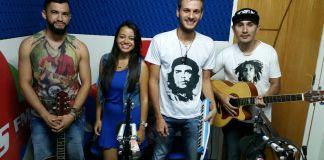 Banda RASTTAH no Studio+