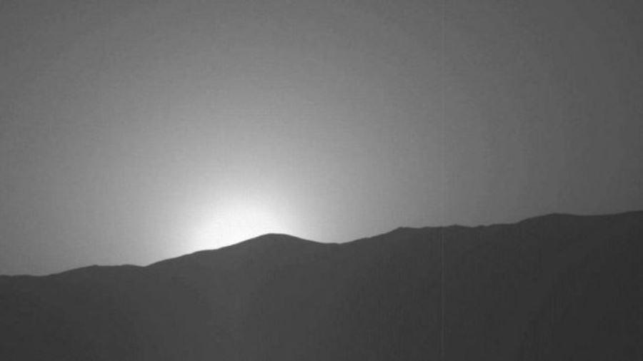 Este é o magnífico pôr-do-sol em Marte, captado pela NASA