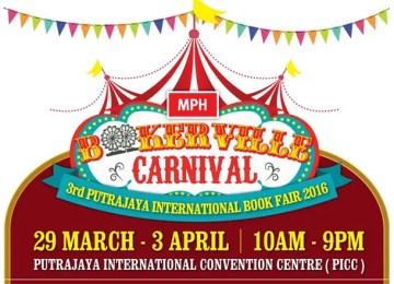 Pesta Buku Antarabangsa Putrajaya 2016 | Bookerville Carnival