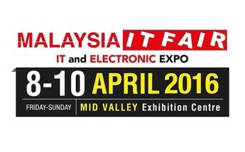 Pameran IT Malaysia 2016 | Mid Valley Exhibition Centre