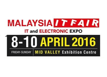 Pameran IT Malaysia 2016 | Mid Valley Exhibition Centre