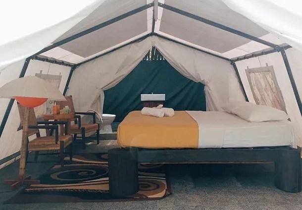 Caravan Serai Tent - Inside Image