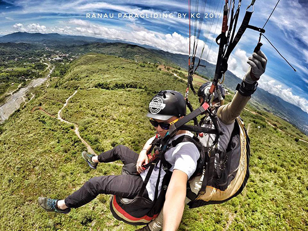 Tandem Paragliding Ranau
