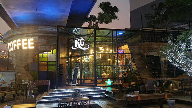 KC Selfie Coffee Bangkok