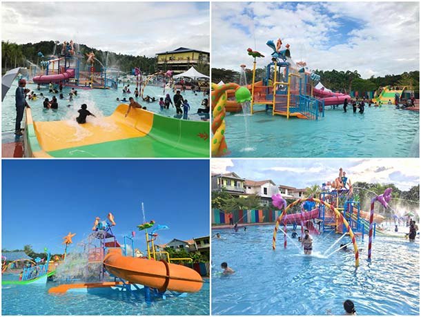 Indah Jaya Water Park - Attractions Image