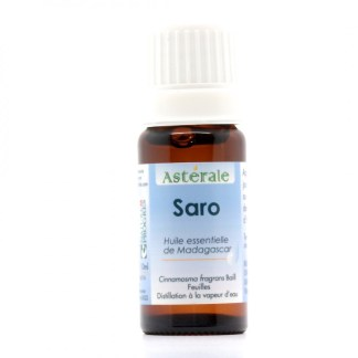 HE Saro 10 ml - label Nature et progrès