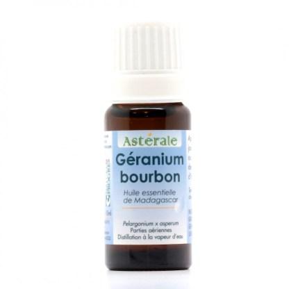 HE Géranium bourbon10 ml Astérale - label Nature et progrès