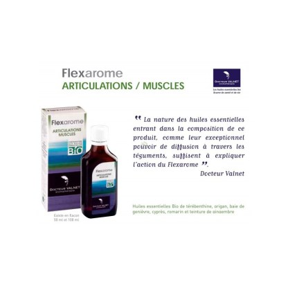 Flexarome 100 ml - Docteur Valnet