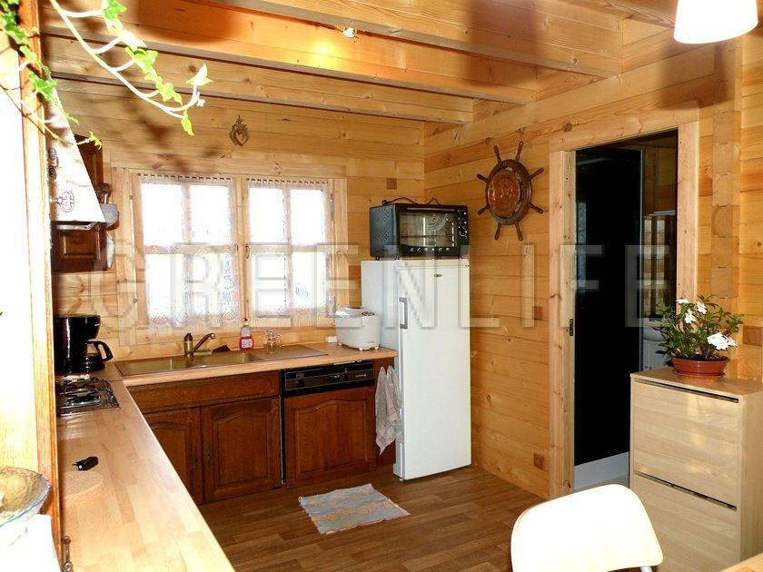 Chalet Bois MAREVA 96 Maison Bois GreenLife