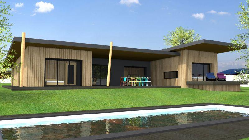 maison ossature bois lyon une maison ecologique