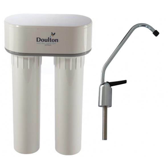 filtre a eau sous evier anti calcaire duo doulton