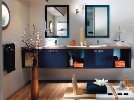 les salles de bains en bois maison