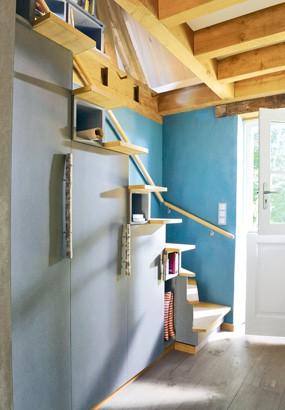 monter un bel escalier avec des
