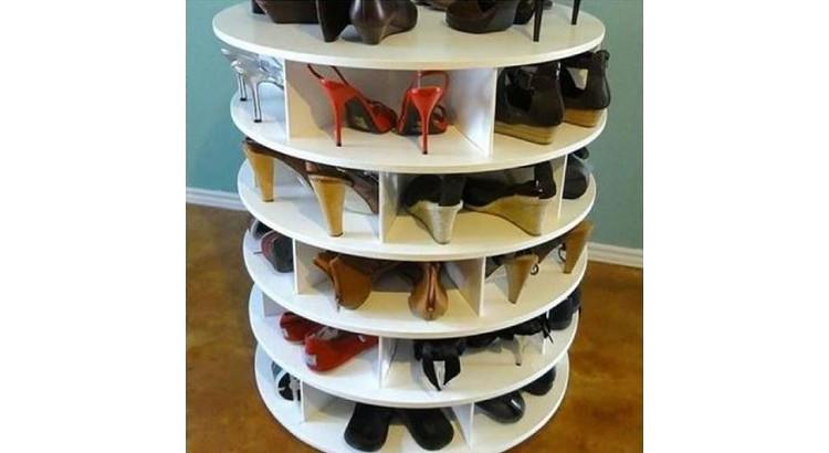 rangement chaussures insolite diy