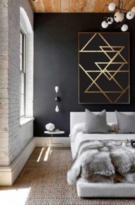 30 idees pour peindre un mur noir chez soi