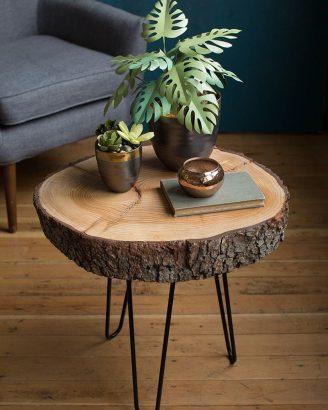 transformer un rondin de bois
