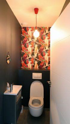 mural de ses toilettes