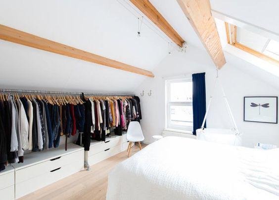 15 Astuces Pour Amenager Un Dressing Dans Un Petit Espace
