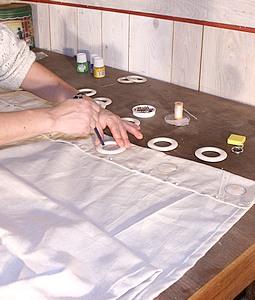 decoration realiser la confection de rideaux faits maison