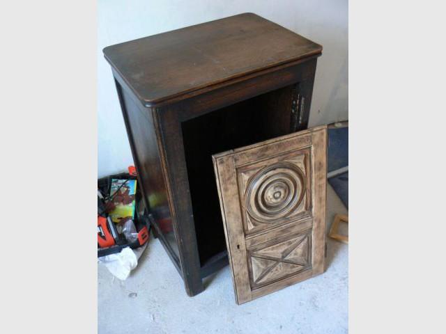 relooking d un vieux meuble breton