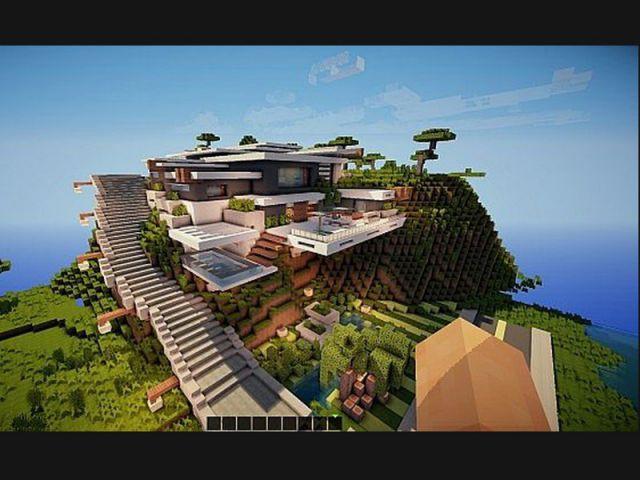 Interieur Maison Moderne Minecraft Burnsocial