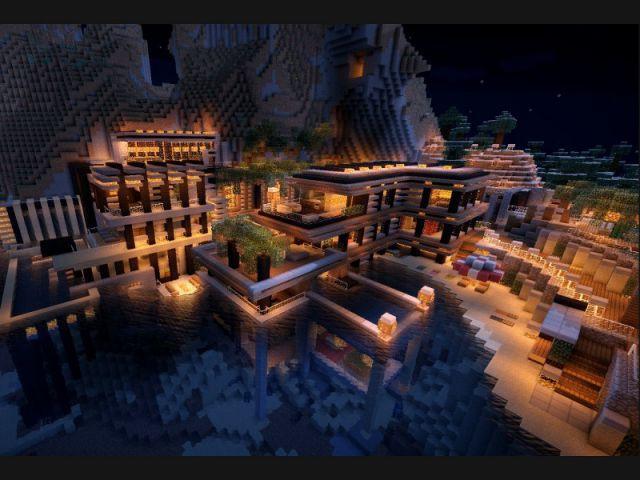 Maison Bord De Mer Minecraft Burnsocial