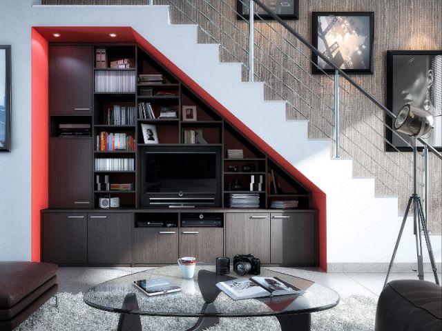 10 Ides Pour Optimiser Lespace Sous Un Escalier