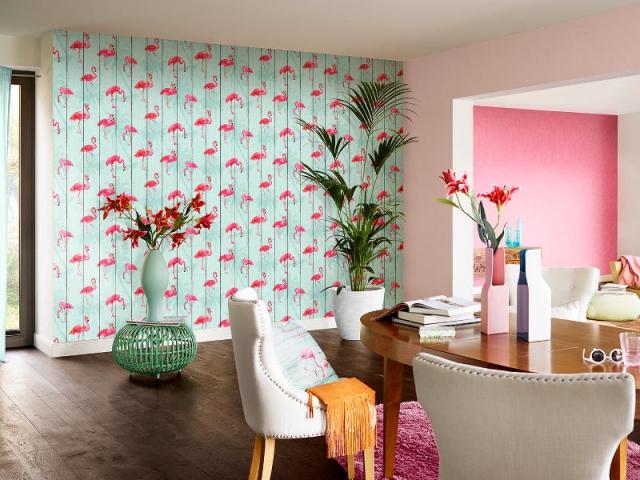 Flamant Rose Ananas Et Palmiers La Floride Sinvite