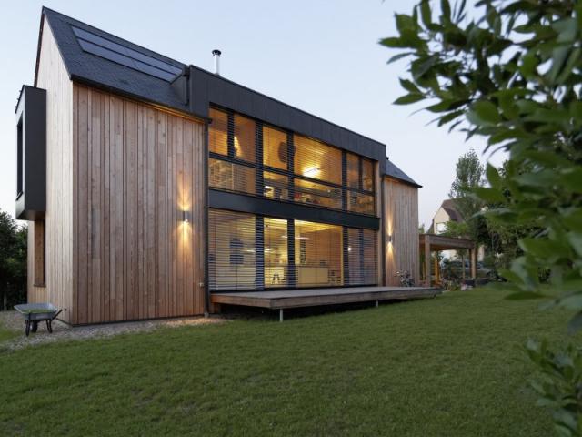 Une Maison Passive Allie Inspiration Japonaise Et