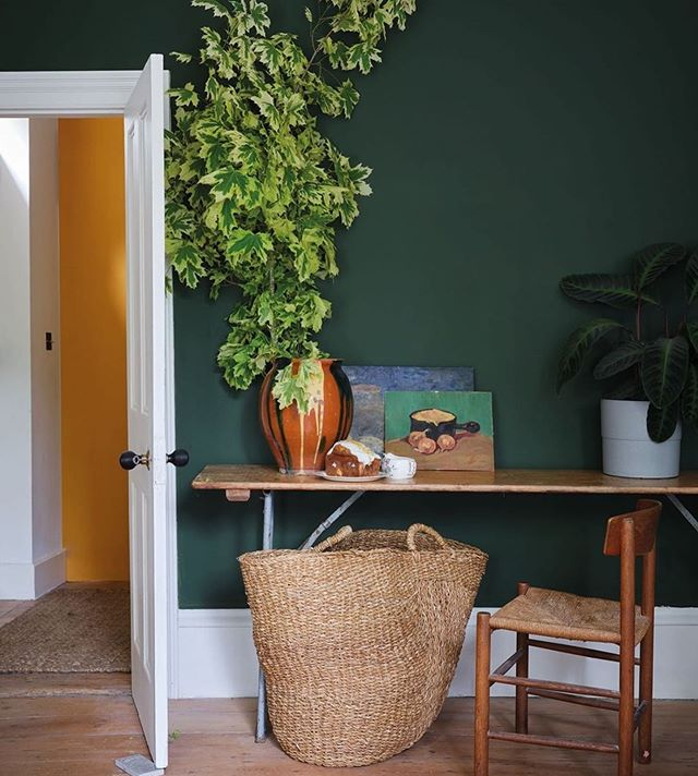 Lovely to be included in Farrow and Ball's green views M&O Paris Hall 4 stand G106