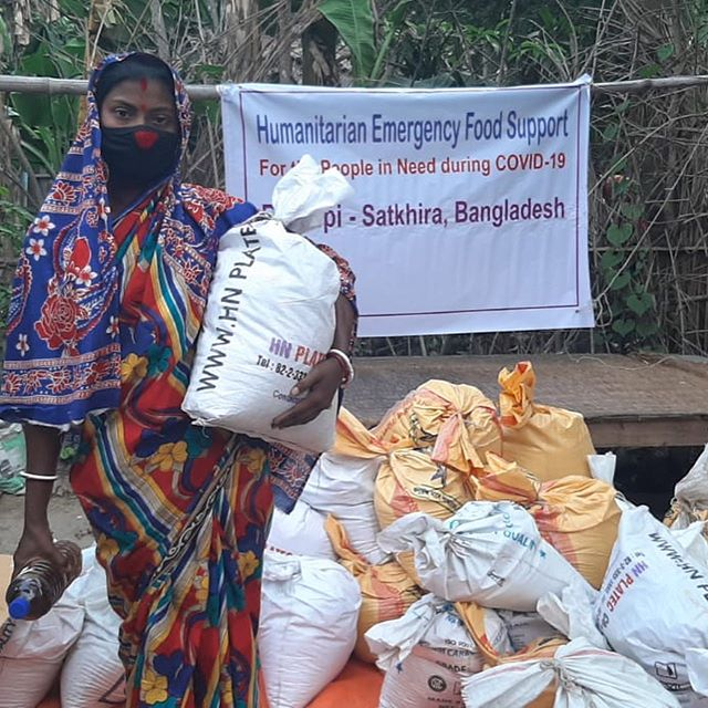Over one thousand families have now received emergency food relief thanks to the prompt action of our partner NGOs in Bangladesh