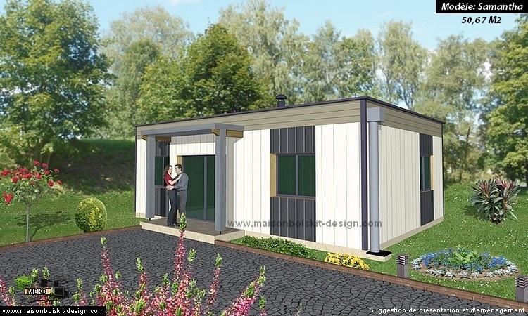 Prix Au M2 D Une Petite Maison En Bois En Kit De 2 Chambres Une Petite Maison Ossature Bois Pour Autoconstructeurs