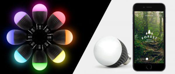 La Misift Bolt est une ampoule connectée