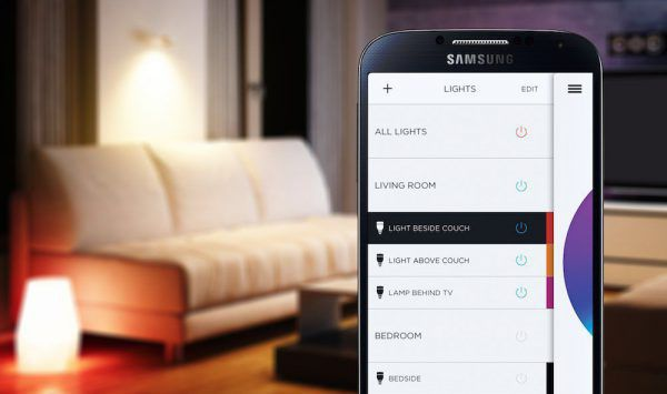 Ampoule Lifx Connectée sur smartphone