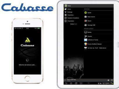 Application Android/iOS de contrôle du Cabasse Stream AMP 100
