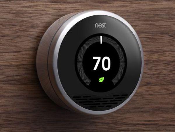Thermostat crée par Tony Fadell