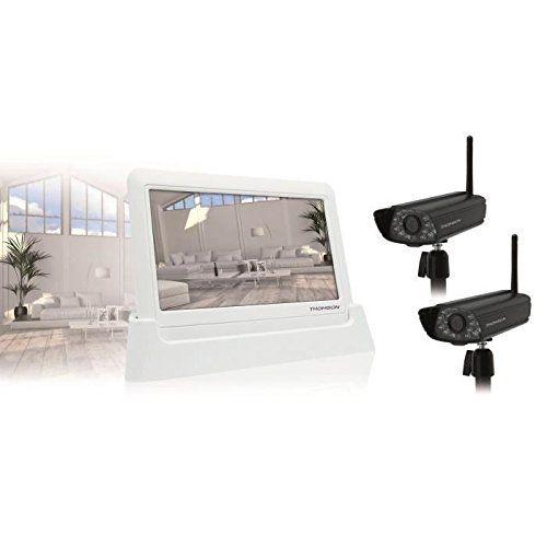 Caméra de Vidéosurveillance kit Thomson 512302 enregistre automatiquement