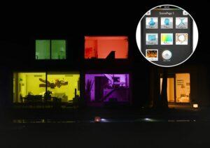 Pont de connexion philps Hue aux couleurs multiples