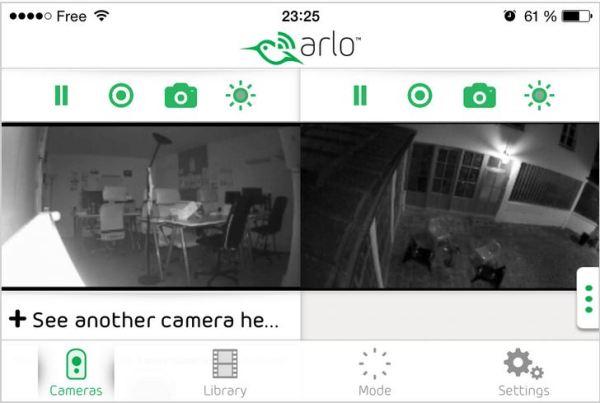 ARLO et sa vision nocturne