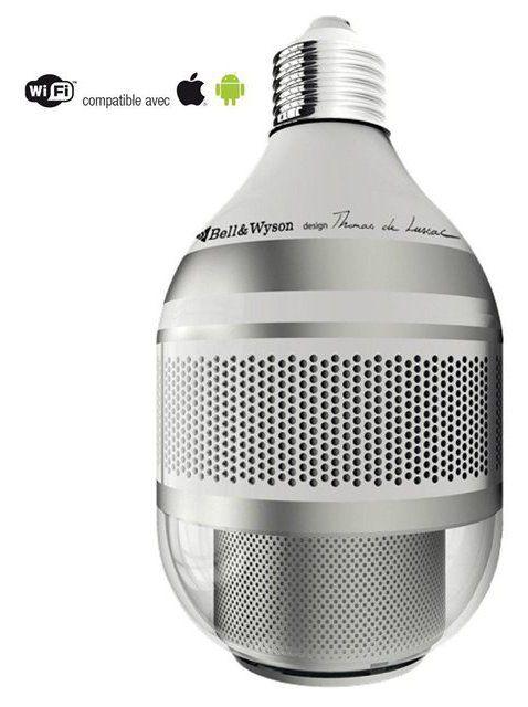 Voici l'ampoule connectée Led multifonction BELL & WYSON 1.1