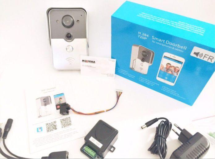 interphone portier video connectée KONX Doorbell