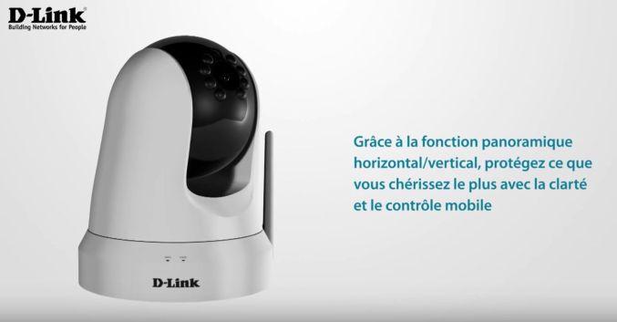 Caméra connectée D-LINK DCS