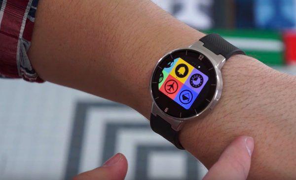 Prise en main de l'Alcatel OneTouch Watch