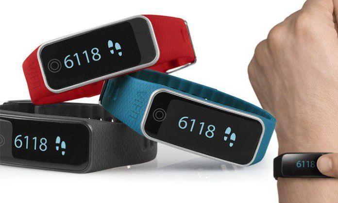 Le bracelet connecté Medisana Vifit Touch est disponible en trois couleurs