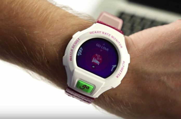 montre connectee cardio Alcatel OneTouch Go Watch