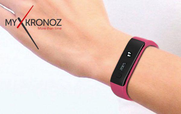 MyKronoz ZEFIT2 Tracker d'activité avec notifications smartphone