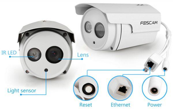 La camera ip extérieur connectée à Internet Foscam FI9803EP